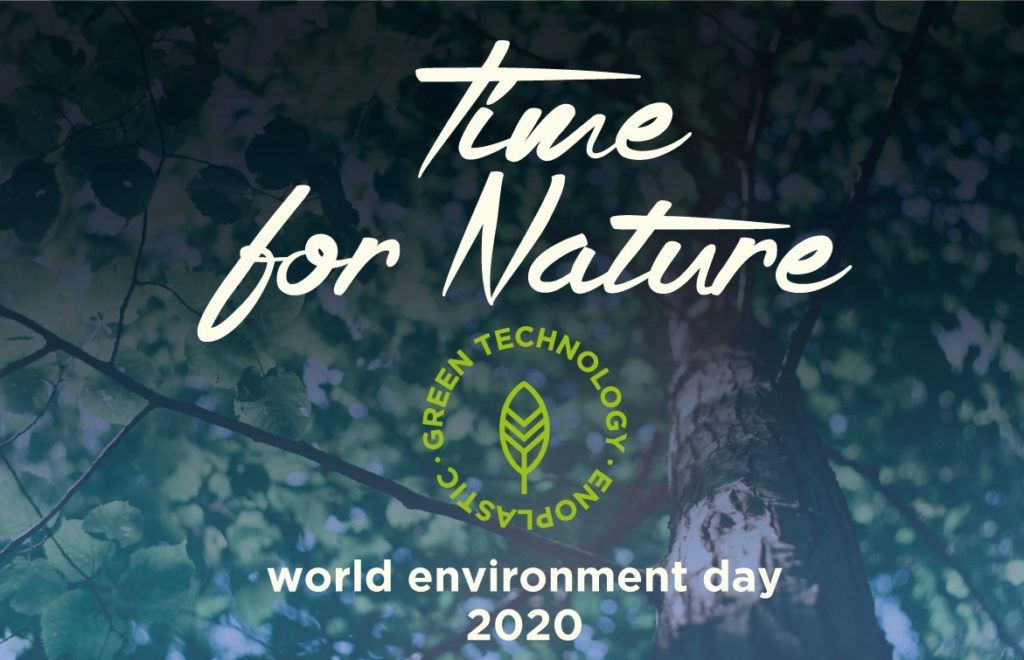 Time for Nature: World Environment Day. We make the difference!